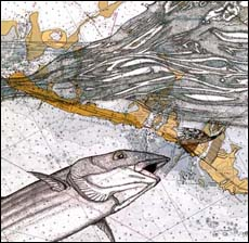 Bonefish Art - Bonefish w/Fly
